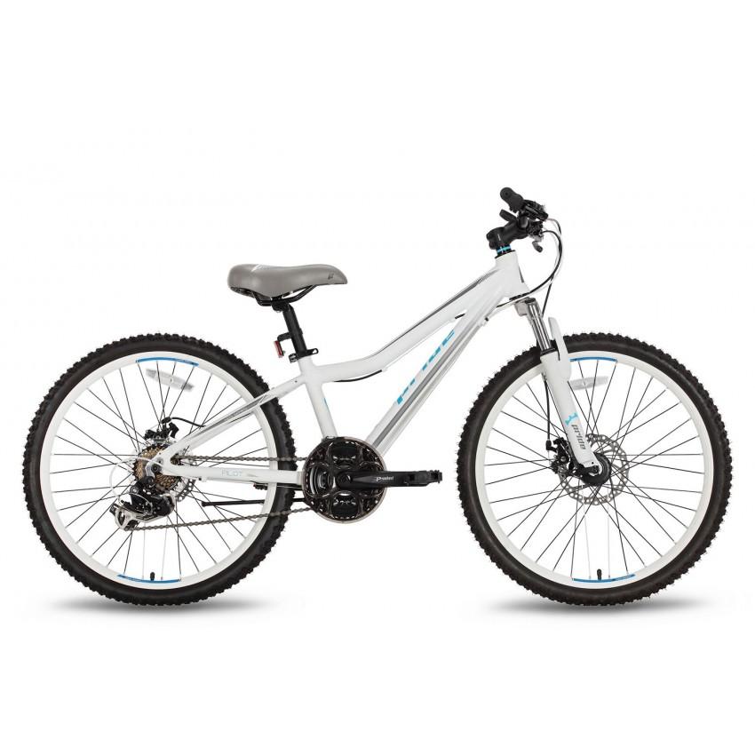 Велосипед PRIDE PILOT 21 24'' бело-серый