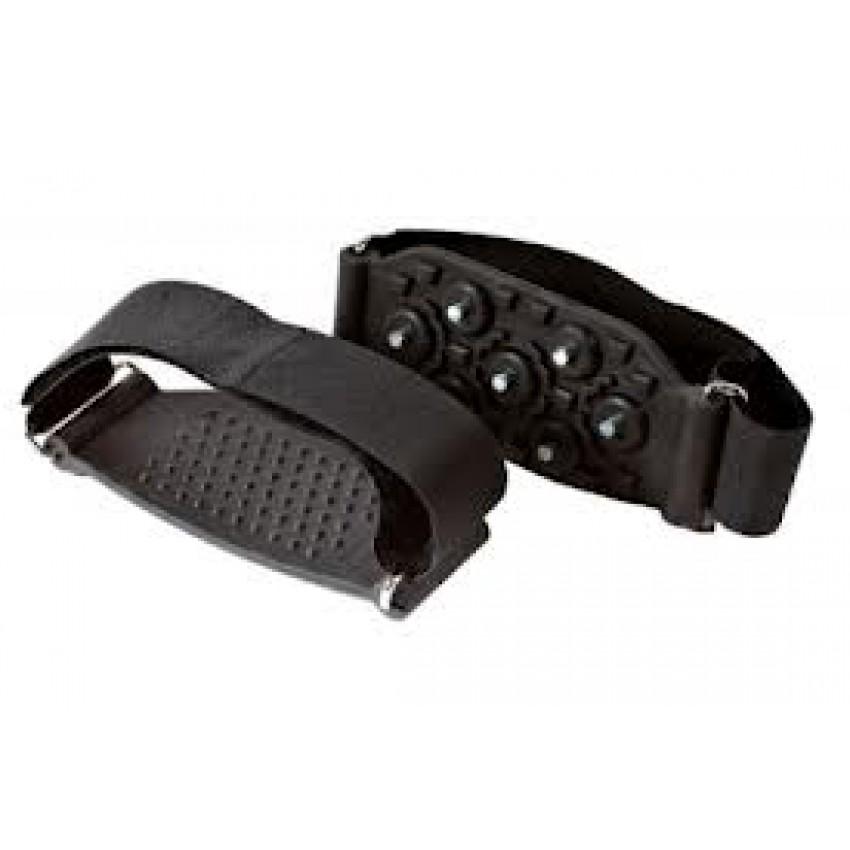 Ледоступы ArtiMate JH 203А на обувь с каблуком (универсальный размер) черный
