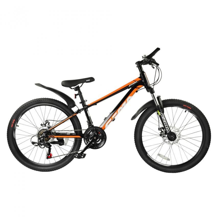 """Велосипед RoyalBaby FEMA MTB 1.0 24"""", OFFICIAL UA, черный"""