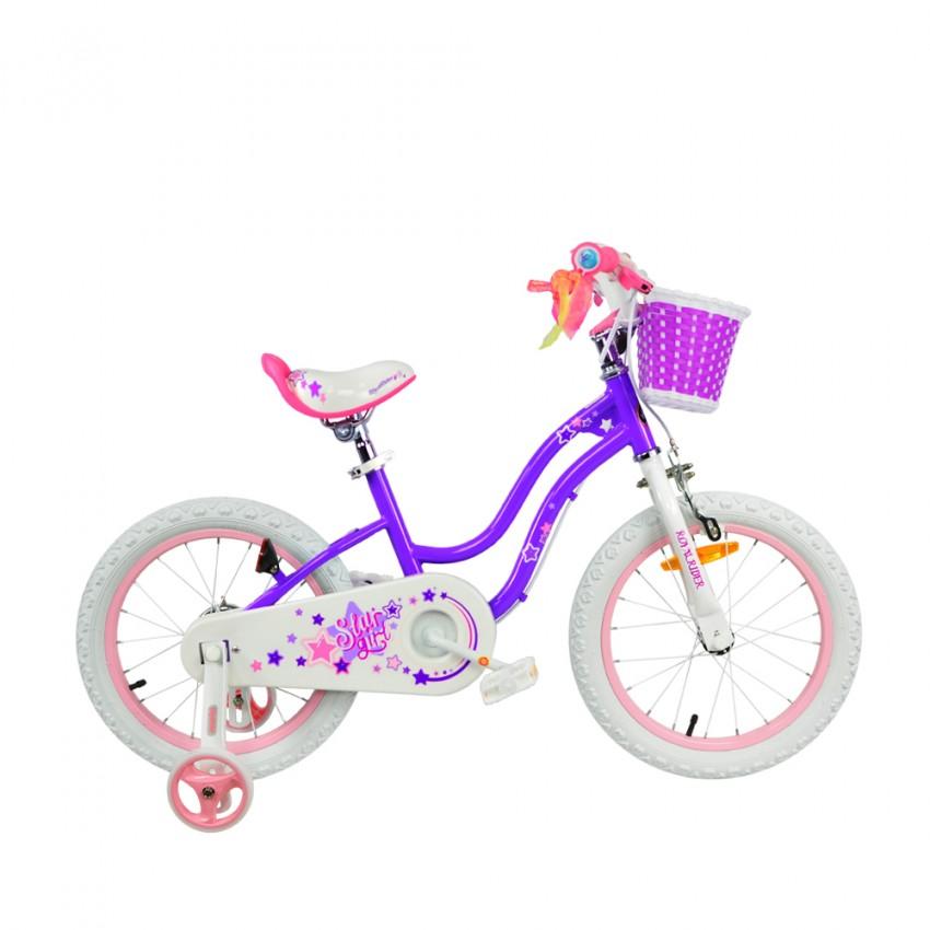 """Велосипед RoyalBaby STAR GIRL 18"""", OFFICIAL UA, фиолетовый"""