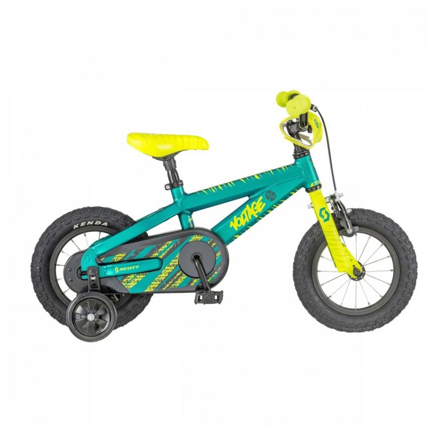 """Велосипед Scott Voltage JR 12 18 12"""" Зеленый"""