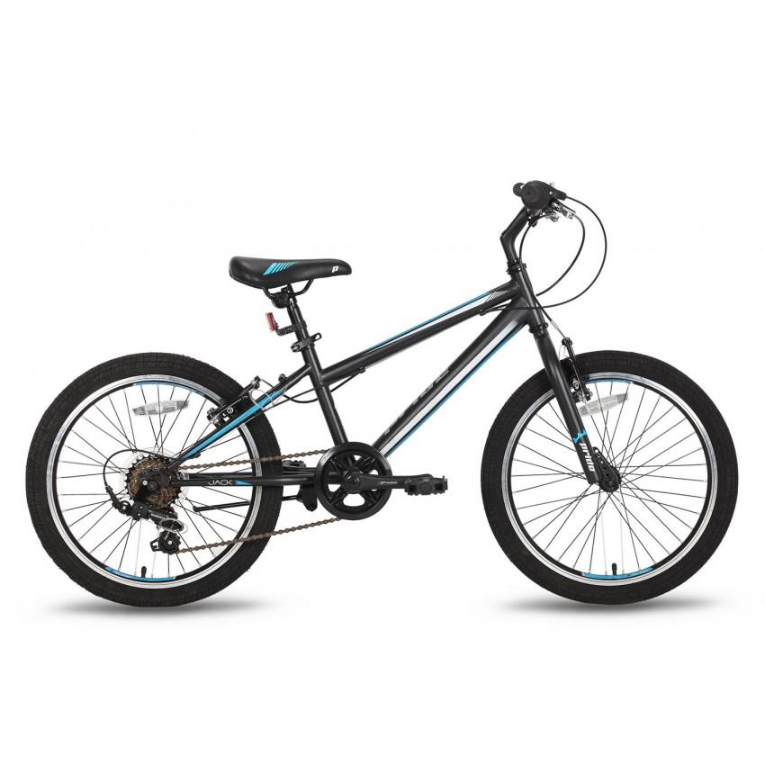 Велосипед PRIDE JACK 6 20'' черно-синий