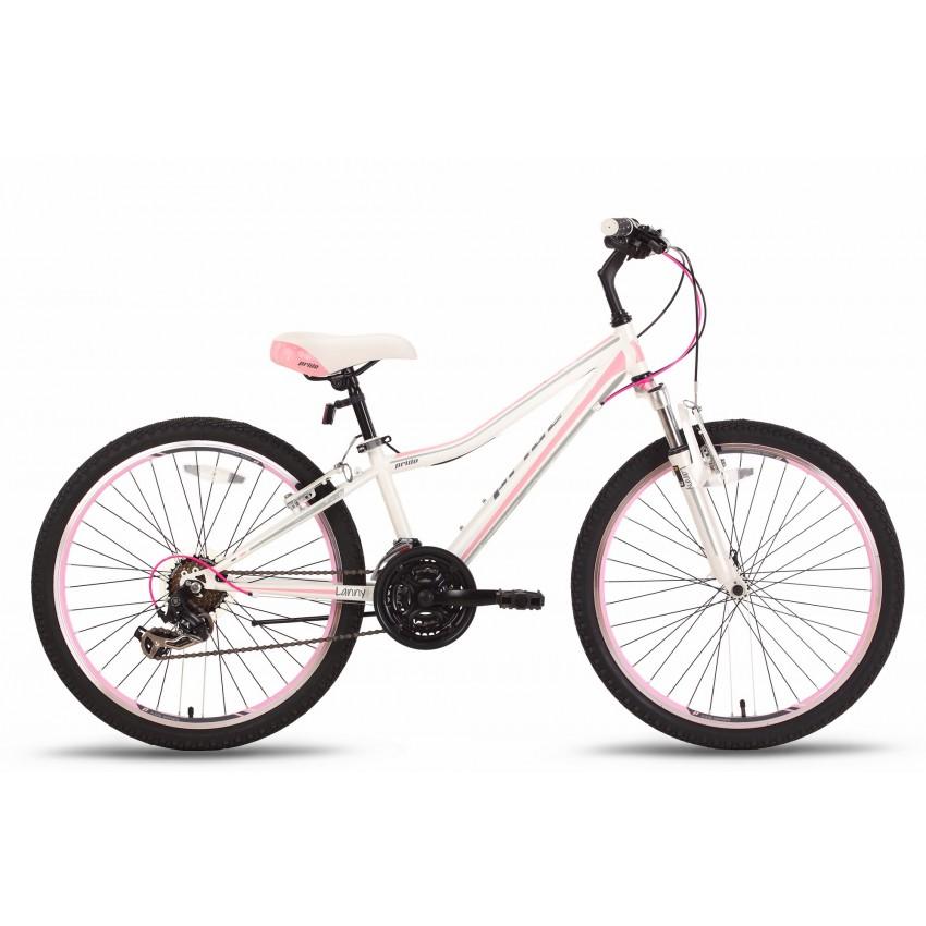 Велосипед PRIDE LANNY 21 24'' бело-розовый