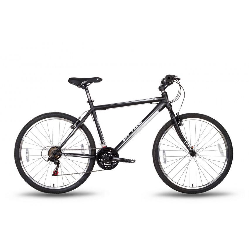 Велосипед PRIDE XC-1.0 26'' черно-белый