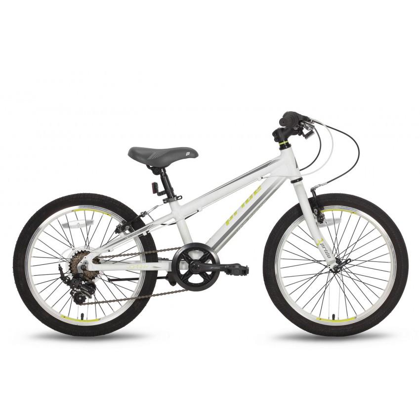 Велосипед PRIDE JOHNNY 20'' бело-зеленый