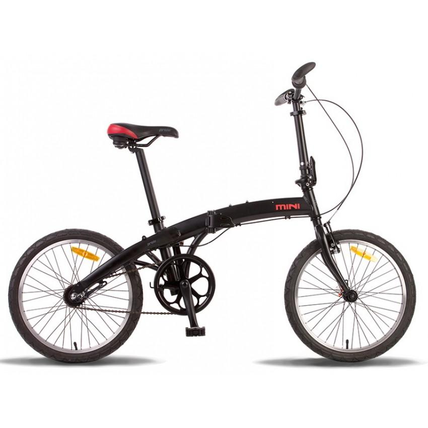 Велосипед PRIDE MINI 3sp 20'' черно-красный
