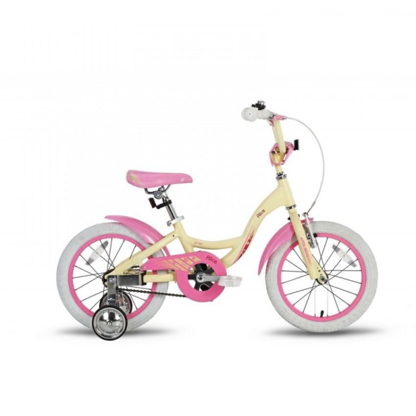 """Велосипед PRIDE ALICE 16"""" бежевый"""