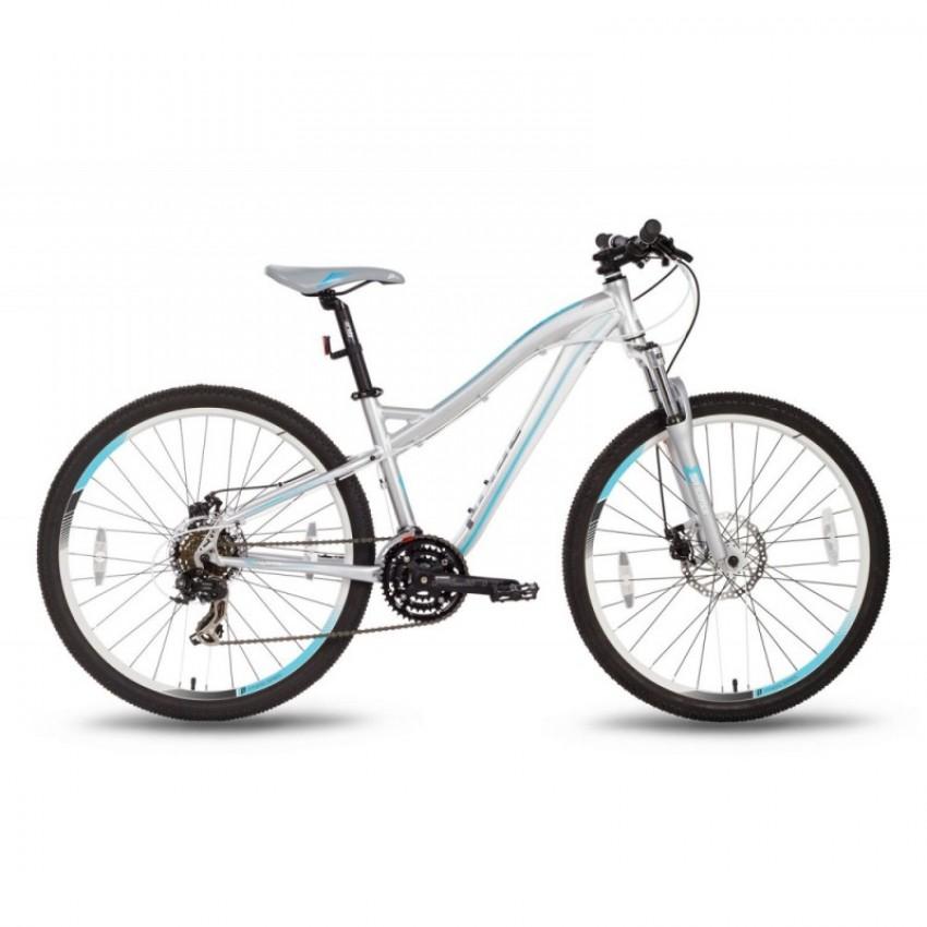 """Велосипед 26'' Pride BIANCA disc рама - 18"""" серо-бирюзовый матовый"""