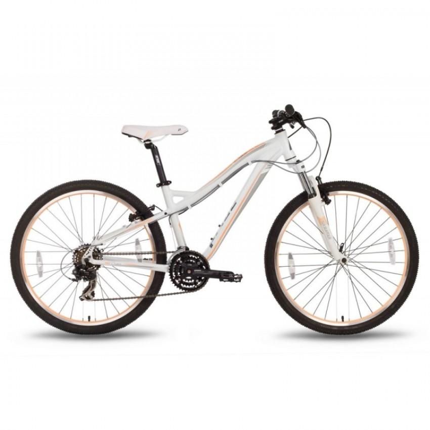 """Велосипед 26'' Pride Bianca V-br рама - 18"""" бело-персиковый матовый 2016"""