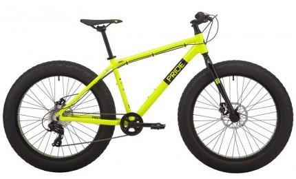 """Велосипед 26"""" Pride DONUT 6.1 рама - X желтый 2019"""
