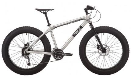 "Велосипед 26"" Pride DONUT 6.2 рама - L серый 2019"