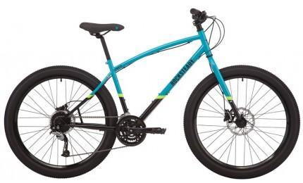 "Велосипед 27,5"" Pride ROCKSTEADY 7.2 рама - M голубой/черный 2019"