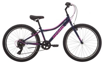 """Велосипед 24"""" Pride LANNY 4.1 синий 2019"""