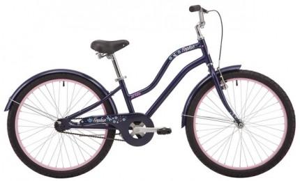 "Велосипед 24"" Pride SOPHIE 4.1 темно-синий 2019"