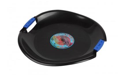 Ледянка-диск PLAST KON TORNADO SUPER черный