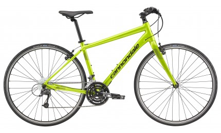 "Велосипед 28"" Cannondale Quick 4 AGR рама - XL зеленый 2018"