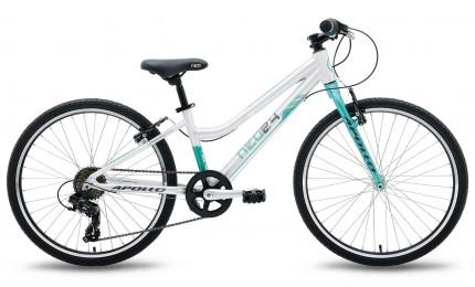 """Велосипед 24"""" Apollo Neo 7s girls темно-бирюзовый 2018"""