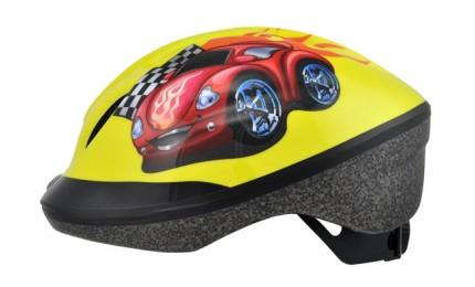 ШлемLongusFUNN2.0RedCar48-54см желтый