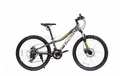 """Велосипед 24"""" Langtu KLT700S Матовый Серый/ Белый"""