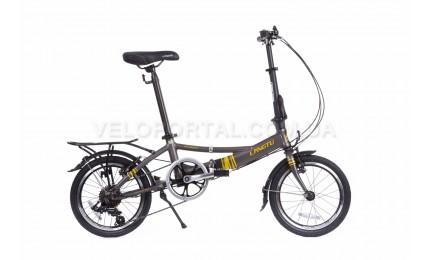 """Велосипед 16"""" Langtu KH017 Матовый Серый"""