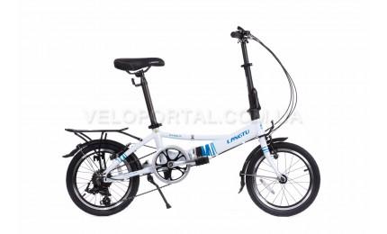 """Велосипед 16"""" Langtu KH017 Белый/ Синий"""