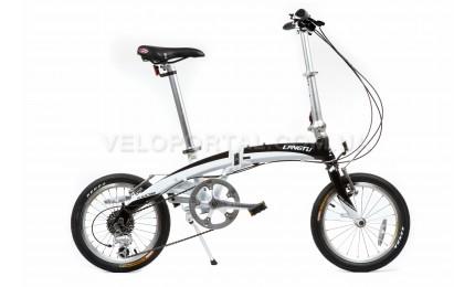 """Велосипед 16"""" Langtu KW018 Белый/ Черный"""