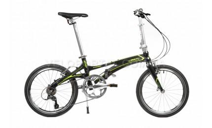 """Велосипед 20"""" Langtu KK029 Черный/ Зеленый"""