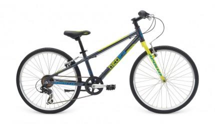 "Велосипед Apollo Neo boys Geared 24"" черно-салатный"