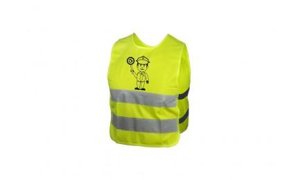 Світловідбиваючий жилет KLS Starlight дитячий police - M