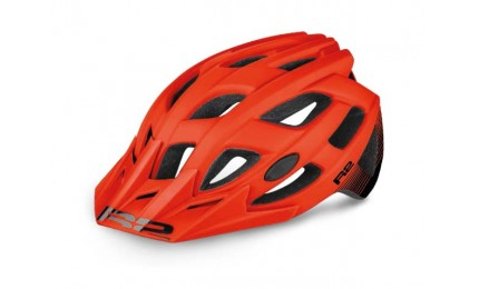 Шлем R2 ROCK красный/ черный матовый L (58 - 62 см)