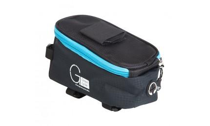 Сумка Green Cycle Smart 5201 нарамная черно-синяя