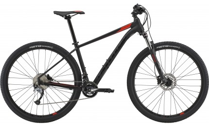 """Велосипед 27,5"""" Cannondale Trail 6 BLK рама - S черный матовый 2018"""