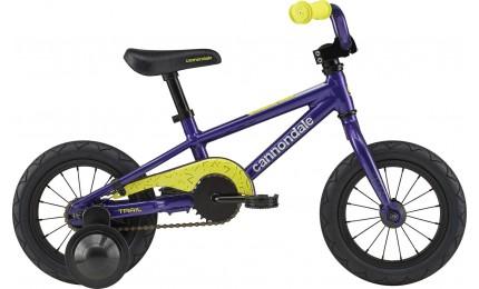 "Велосипед 12"" Cannondale TRAIL 1 GIRLS OS 2020 ULV, фіолетовий"