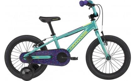 "Велосипед 16"" Cannondale TRAIL SS GIRLS OS 2020 TRQ, бірюзовий"