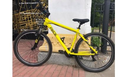 "Велосипед 27,5"" Pride Marvel 7.1 рама -  L желто-черный 2020 Б/У"