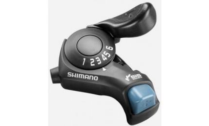 Манетка Shimano Tourney SL-TX30 правая 6 скоростей (SIS) черный