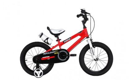 """Велосипед RoyalBaby FREESTYLE 14"""", красный"""