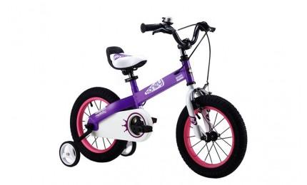 """Велосипед RoyalBaby HONEY 16"""", OFFICIAL UA, фиолетовый"""