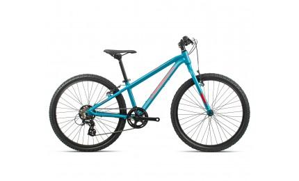 Велосипед підлітковий Orbea MX 24 Dirt Blue-Red