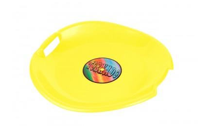 Ледянка-диск PLAST KON TORNADO желтый