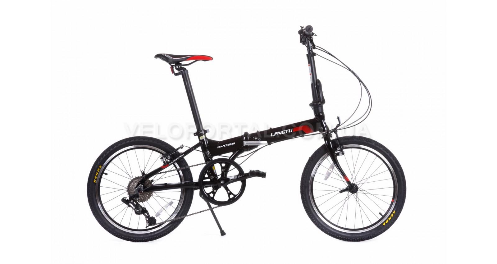 """Велосипед 20"""" Langtu KY028(16) Черный/ Красный"""