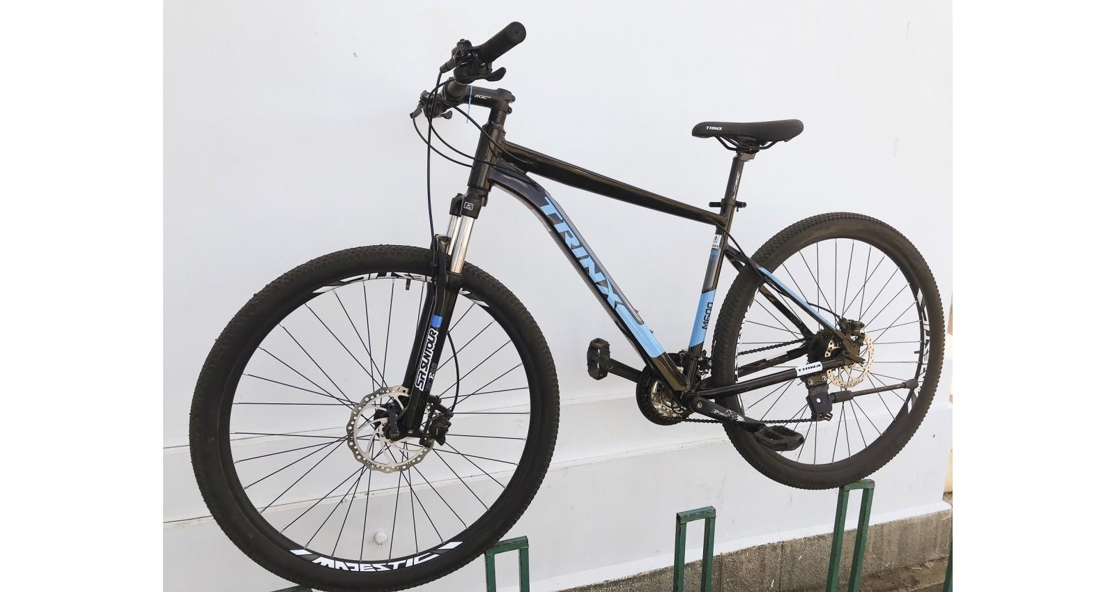 """Велосипед М600 Expert Pro Trinx 29"""" рама 17, 2020 черный/серый/голубой б/у - № Фото 1"""