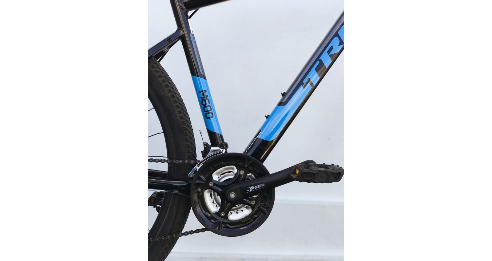 """Велосипед М600 Expert Pro Trinx 29"""" рама 17, 2020 черный/серый/голубой б/у - № Фото 1 - № Фото 2"""