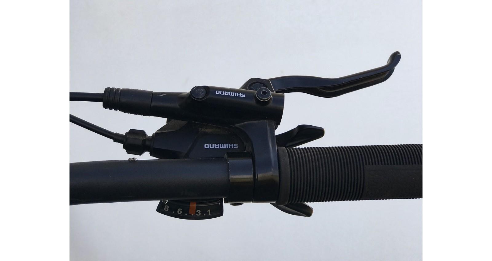 """Велосипед М600 Expert Pro Trinx 29"""" рама 17, 2020 черный/серый/голубой б/у - № Фото 1 - № Фото 2 - № Фото 3 - № Фото 4"""