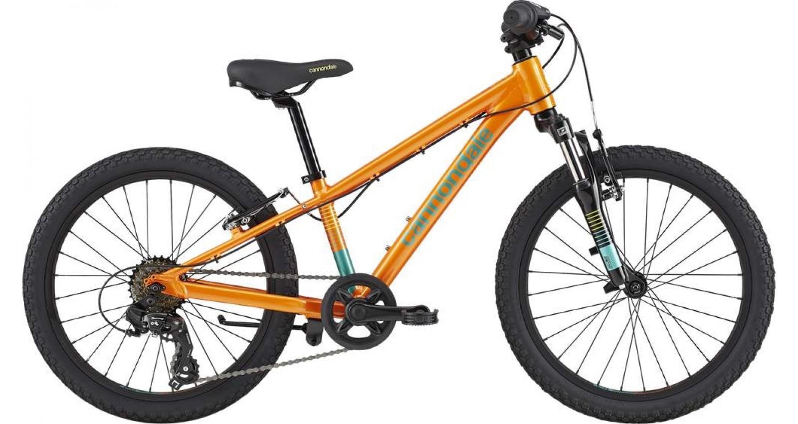"""Велосипед 20"""" Cannondale TRAIL GIRLS OS 2020 CRU помаранчовий"""