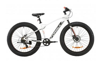 """Велосипед Formula 26 PALADIN DD рама-17"""" AL 2020 бело-серый с оранжевым (м)"""