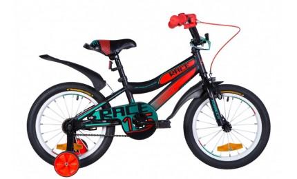 """Велосипед Formula Race 16"""" Бирюзовый/черный/оранжевый"""