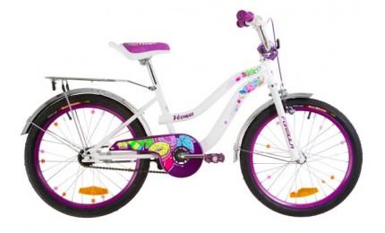 """Велосипед Formula Flower 20"""" Белый/розовый"""