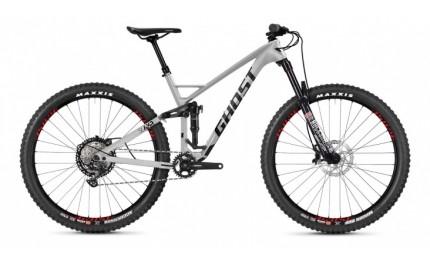 """Велосипед Ghost Slamr 29"""" серебристый/черный/красный"""