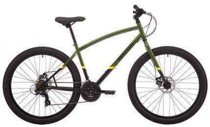 "Велосипед 27,5"" Pride ROCKSTEADY 7.1 рама - M хаки/черный 2019"